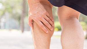 Tennis-leg