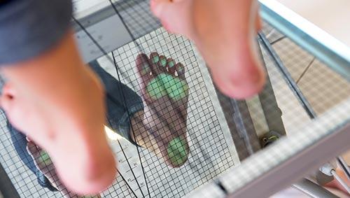 Scanner du pied