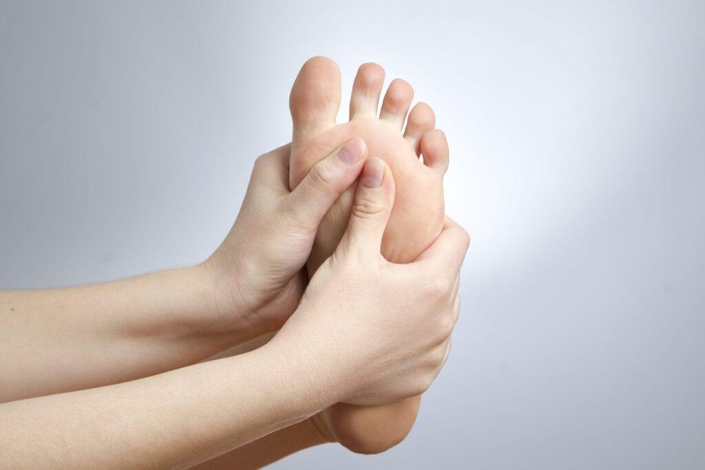 Douleur sous le pied
